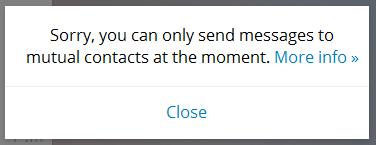 spam telegram