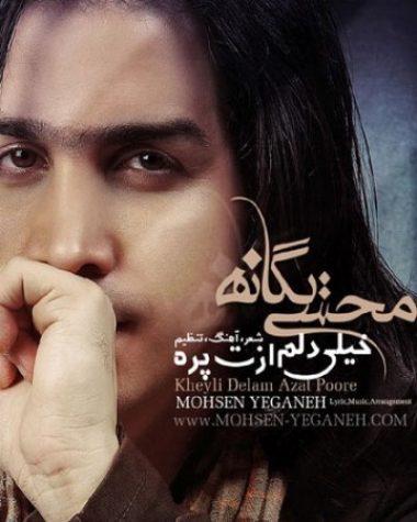 دانلود آهنگ محسن یگانه به نام خیلی دلم ازت پره