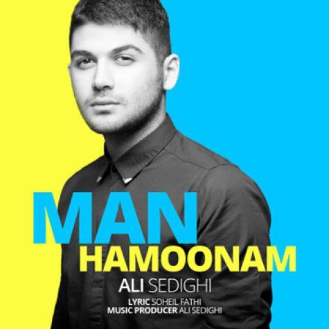 دانلود آهنگ جدید علی صدیقی به نام من همونم