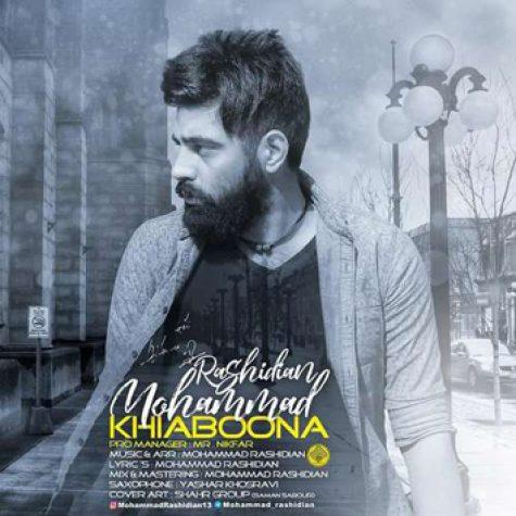 دانلود آهنگ جدید محمد رشیدیان به نام خیابونا