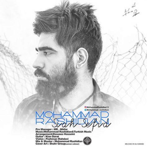 دانلود آهنگ جدید محمد رشیدیان به نام سیاه سفید