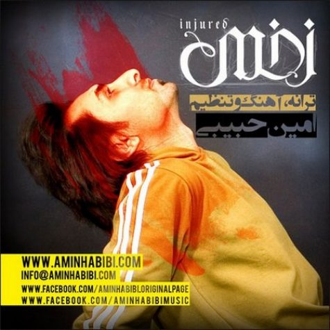 امین حبیبی زخمی
