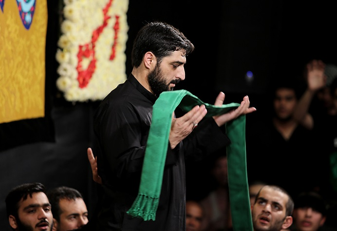 دانلود مداحی من آروم میشم با عکس حرم از سید مجید بنی فاطمه
